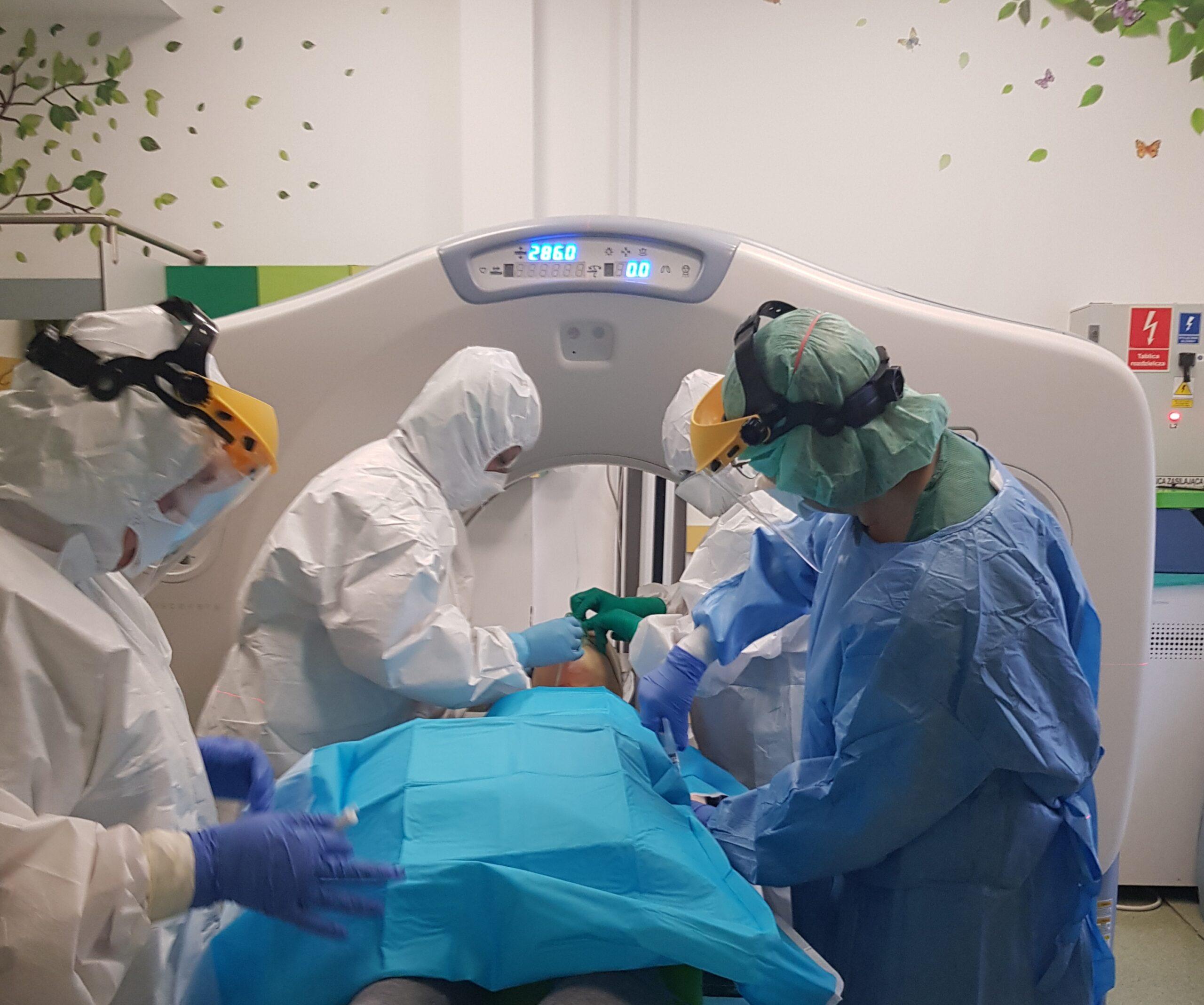Leczenie onkologiczne małych pacjentów z koronawirusem